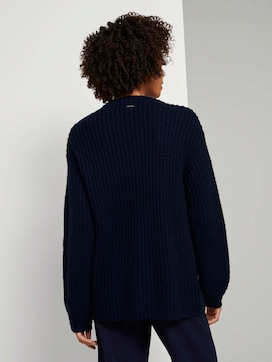 Loose Fit Cardigan mit Rippstruktur  - 2 - Tom Tailor E-Shop Kollektion