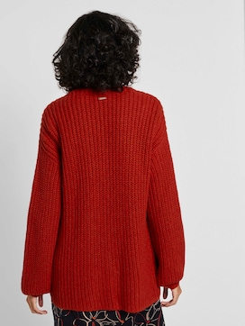 Ribbed cardigan - 2 - Mine to five
