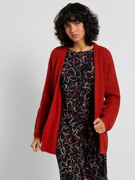 Loose Fit Cardigan mit Rippstruktur  - 5 - Tom Tailor E-Shop Kollektion