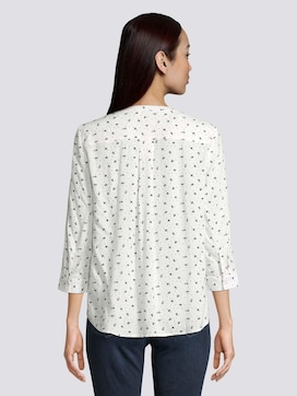 Patterned tunic blouse - 2 - TOM TAILOR