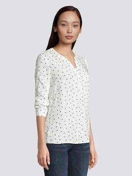 Patterned tunic blouse - 5 - TOM TAILOR