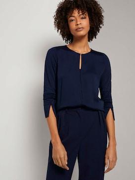 Tunika im Materialmix - 5 - Tom Tailor E-Shop Kollektion