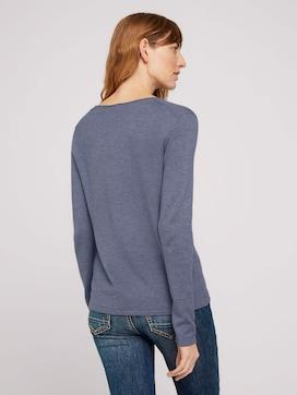 Basic Pullover mit V-Ausschnitt - 2 - TOM TAILOR