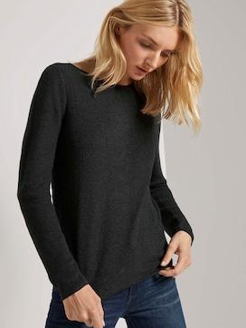Rib-look sweater - 5 - TOM TAILOR