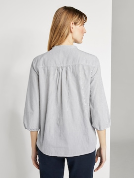 3/4 Arm Bluse mit Muster - 2 - TOM TAILOR
