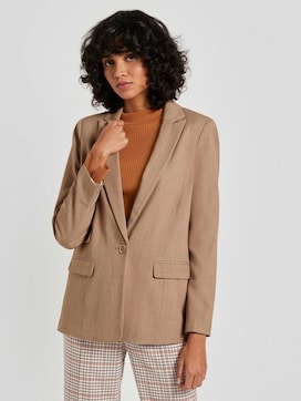Mottled girlfriend blazer - 5 - Mine to five