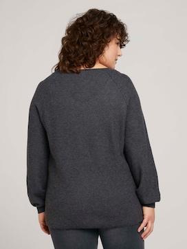Gebreide trui met getextureerde afwerking - 2 - Tom Tailor E-Shop Kollektion