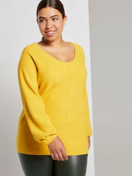 Knitted sweater with a textured finish - 5 - My True Me
