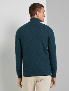 Strukturierte Mouline Strickjacke - 2 - TOM TAILOR