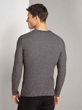 Fein strukturierter Pullover - 2 - TOM TAILOR