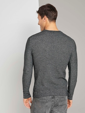 Finely textured sweater - 2 - TOM TAILOR