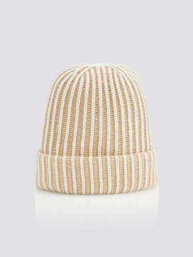 Gerippte Beanie - 7 - Tom Tailor E-Shop Kollektion
