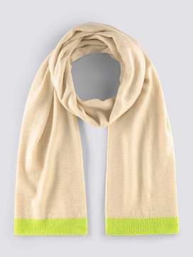 Soft knitted scarf - 7 - Tom Tailor E-Shop Kollektion