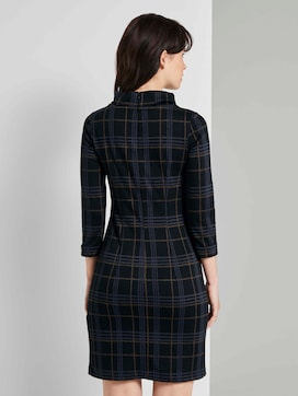 Geruite Coltrui Jurk - 2 - TOM TAILOR