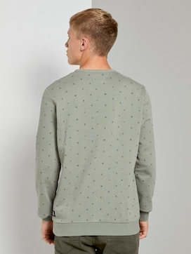 Gemustertes Sweatshirt - 2 - TOM TAILOR Denim