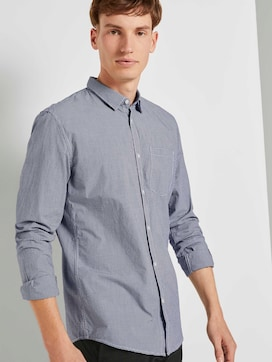 Gemustertes Hemd Slim Fit - 5 - TOM TAILOR Denim