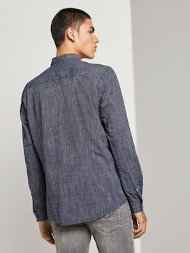 Fine slim-fit shirt - 2 - TOM TAILOR Denim