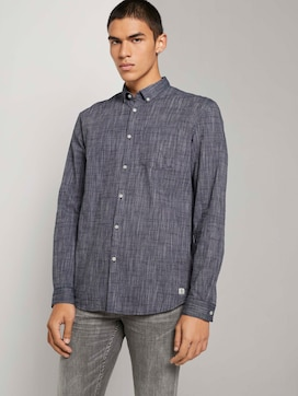 Fine slim-fit shirt - 5 - TOM TAILOR Denim
