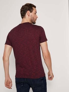 Geborduurd T-shirt met structuur - 2 - TOM TAILOR