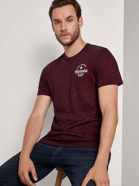 Geborduurd T-shirt met structuur - 5 - TOM TAILOR