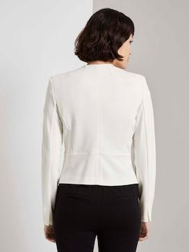 Collarless jersey blazer - 2 - Mine to five