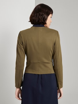 Collarless jersey blazer  - 2 - Mine to five