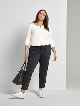 Checked loose-fit trousers - 3 - My True Me