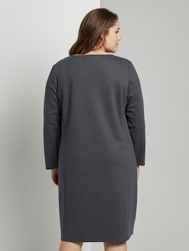 Jerseykleid im Hahnentrittmuster - 2 - My True Me