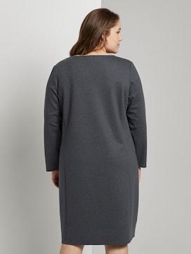 Jerseykleid im Hahnentrittmuster - 2 - Tom Tailor E-Shop Kollektion