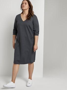 Jerseykleid im Hahnentrittmuster - 5 - Tom Tailor E-Shop Kollektion