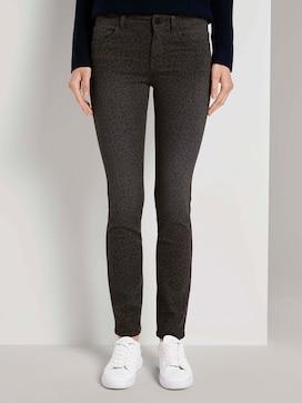 Alexa slim jeans with a leo print - 1 - TOM TAILOR