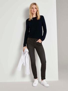 Alexa slim jeans with a leo print - 3 - TOM TAILOR