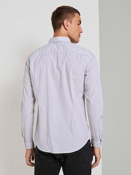 Slim fit overhemd met tekening - 2 - TOM TAILOR