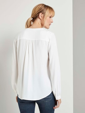 Knoop Details Blouse - 2 - TOM TAILOR