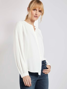 Knoop Details Blouse - 5 - TOM TAILOR