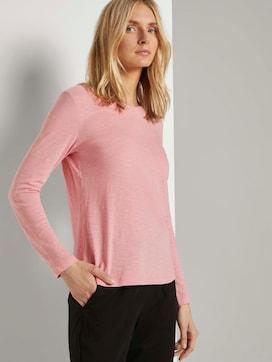 Langarmshirt aus Organic Cotton - 5 - TOM TAILOR
