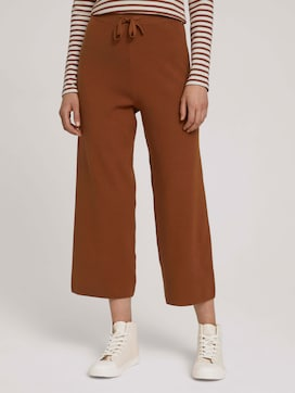 Relaxed culotte trousers - 1 - TOM TAILOR Denim