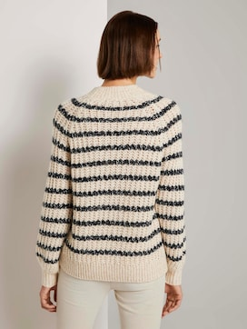 Turtleneck sweater in a striped pattern - 2 - TOM TAILOR Denim