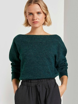 Schulterfreier Strickpullover - 5 - TOM TAILOR Denim