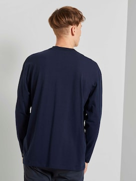 Langarmshirt mit Stehkragen - 2 - TOM TAILOR Denim