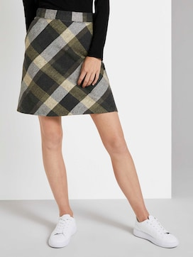 Checked mini skirt - 1 - TOM TAILOR