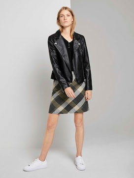 Checked mini skirt - 3 - TOM TAILOR