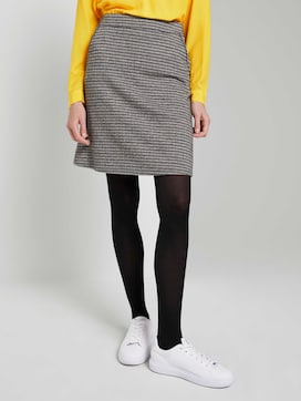 Geruite Mini Rok - 1 - TOM TAILOR