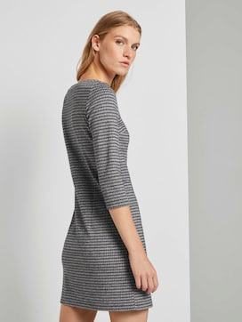 Checked jersey dress - 2 - TOM TAILOR