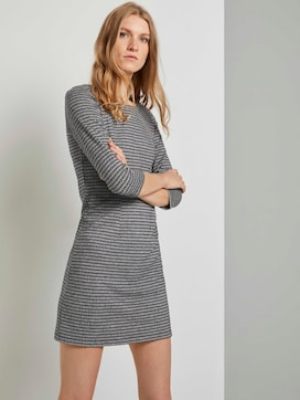 Checked jersey dress - 5 - TOM TAILOR