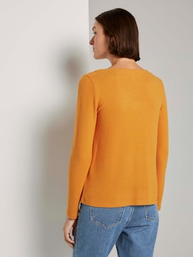 Soft sweater with a V-neckline - 2 - TOM TAILOR Denim