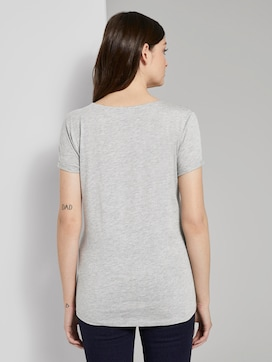 T-shirt with sequin letters - 2 - TOM TAILOR Denim