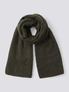Boucls knitted scarf - 7 - TOM TAILOR