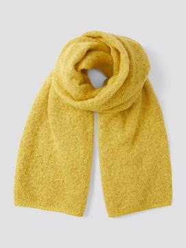 Bouclé gebreide sjaal - 7 - TOM TAILOR