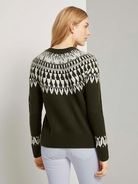 Pullover mit Shetland-Muster - 2 - TOM TAILOR